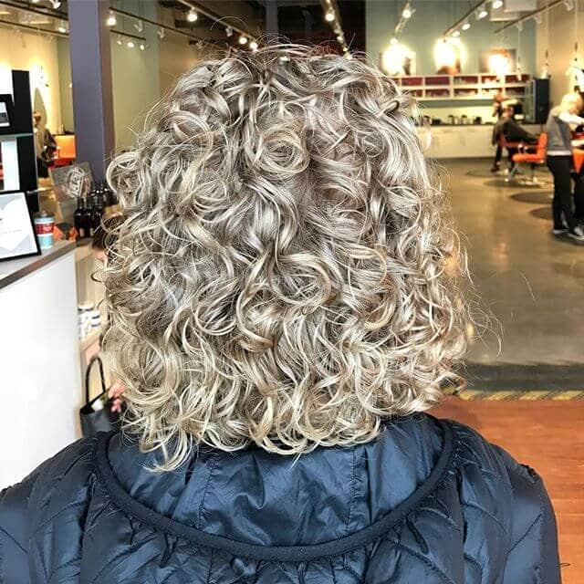 Defined Curly Hairstyle for Short Hair