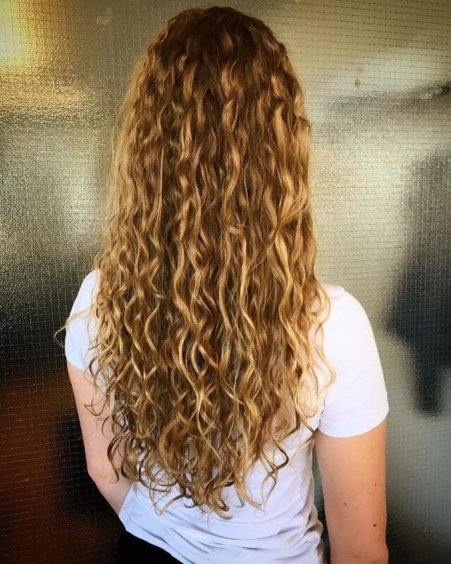Beautiful Tight Ringlets on Long Hair