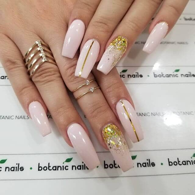 Pretty Pops of Pink & Gold