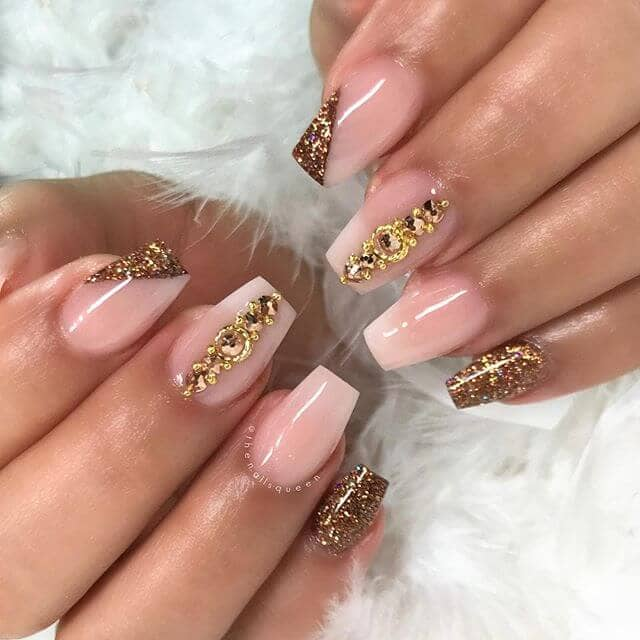 Express Your Style with Golden Nail Art