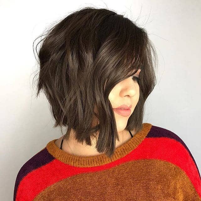 Dark and Romantic Angular Bob