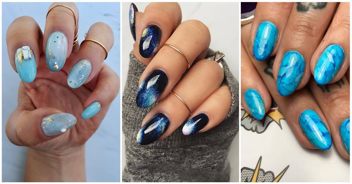 50 Stunning Blue Nail Designs For A Bold And Beautiful Look In 2021