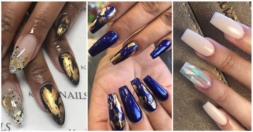 50 Glamorous Foil Nails to make Nails the Perfect Accessory