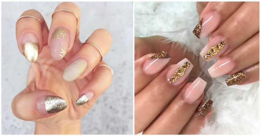 50 Hottest Gold Nail Designs to Spice Up Your Nail Inspirations