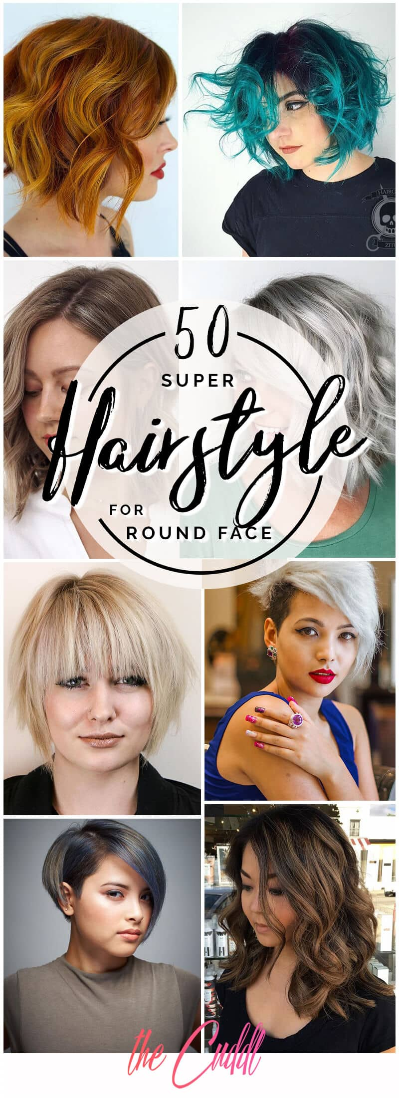 10 Fabulous Hairstyles for Round Faces to Upgrade Your Style in 10