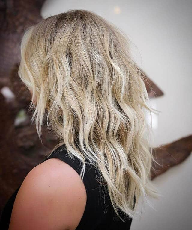 Sweet and Romantic Beachy Shag Layers