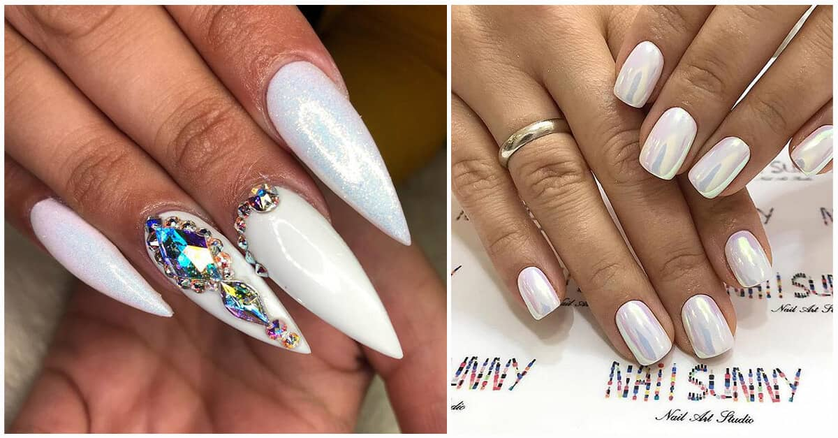 50 Fun And Fashionable White Nail Design Ideas For Any Occasion In 2020