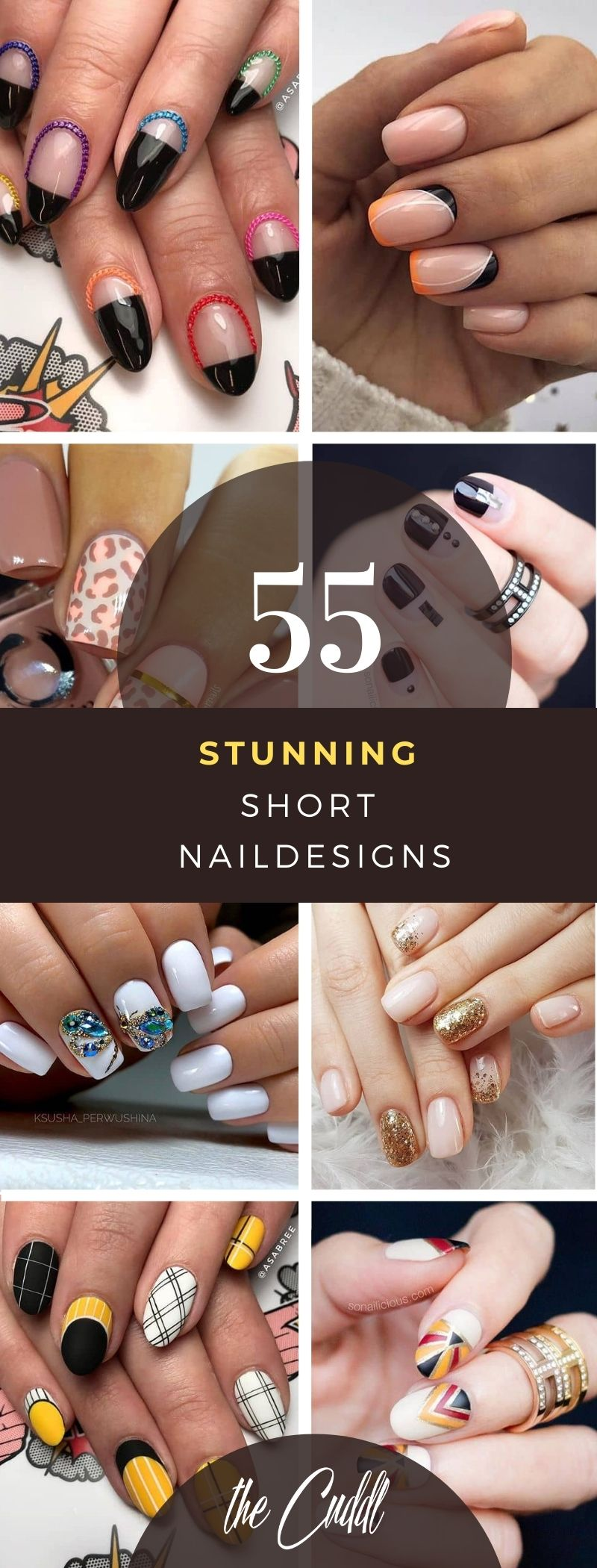 55 Creative Nail Designs for Short Nails to Create Unique Styles