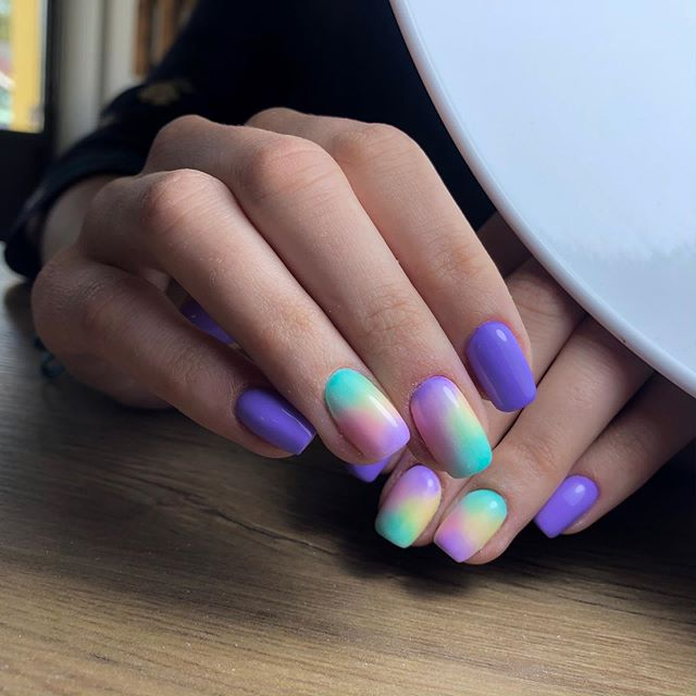 Colorful and Stunning Nail Options