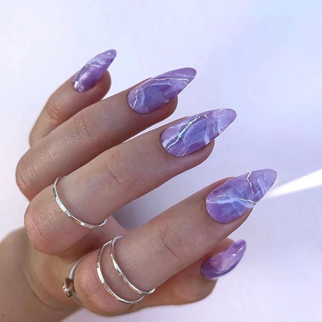 Stunning and Timeless Nail Color Idea