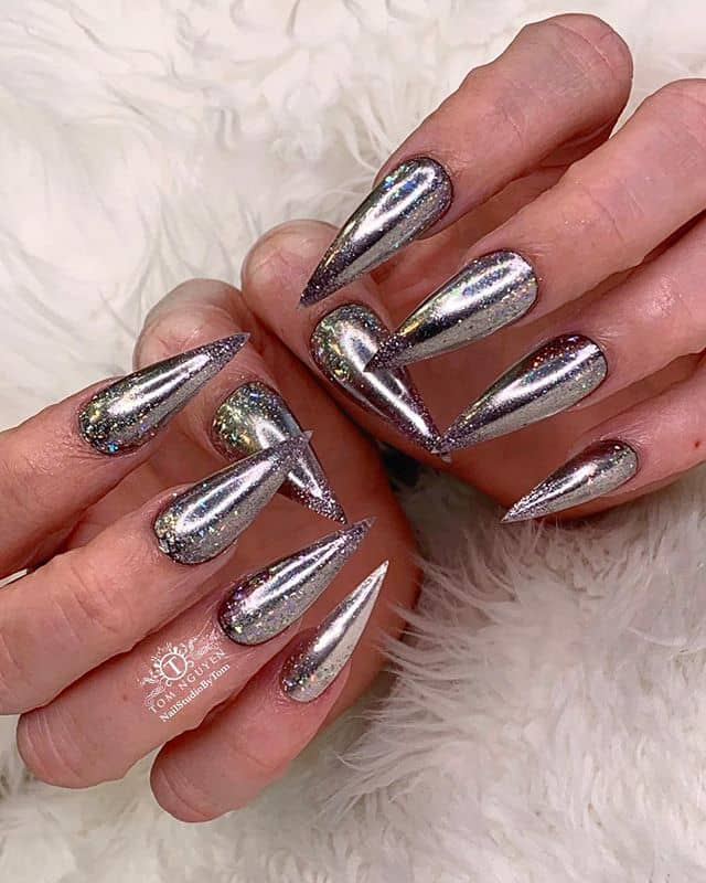 Disco Ball Bling for Your Claws