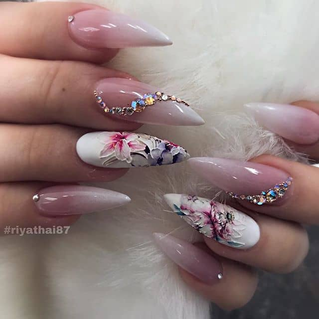 April Showers Bring Summer Roses for your Fingers