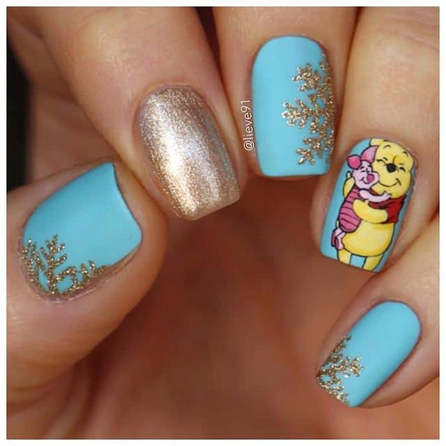 Yes, You Need Winnie the Pooh and Piglet On Your Nails
