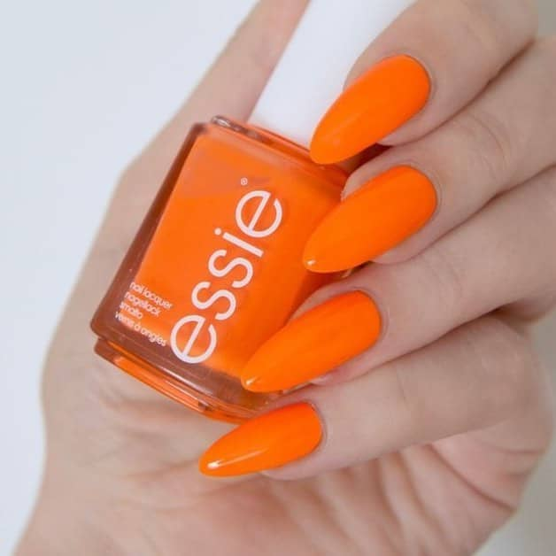 Bright Orange with a Bite