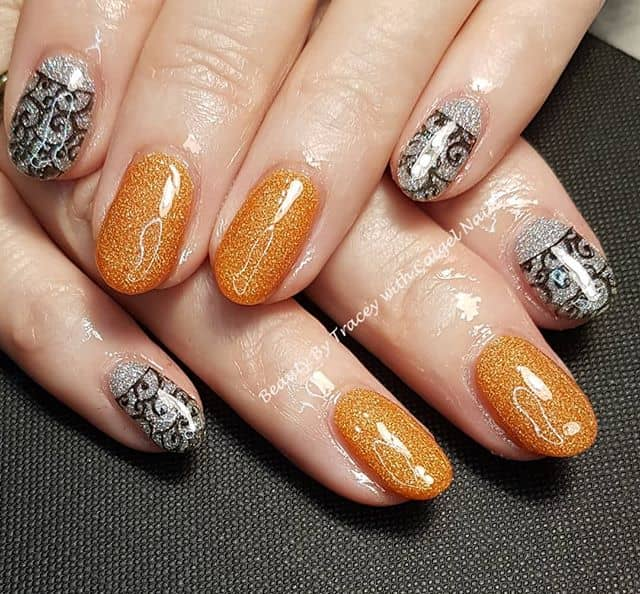 Sparkle and Shine with Lace Overlay