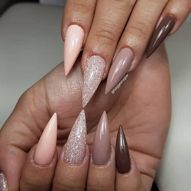 Efficient and Elegant Pointy Acrylic Nails