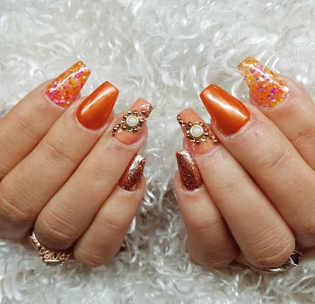 Orange Bejeweled, Glittering Show-Stoppers