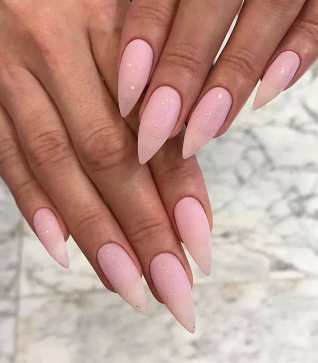 Pretty in Posh Pink Smooth Nails