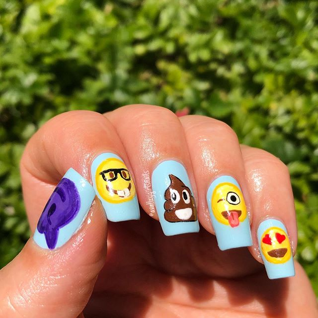 Awesome Nail Color Idea for Parties
