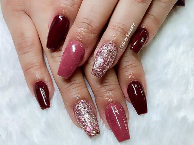 Beautiful Romantic Nails for a Date