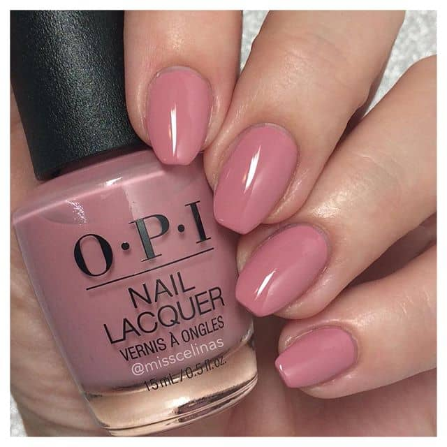 Easy Perfect Rose-Colored Nail Lacquer