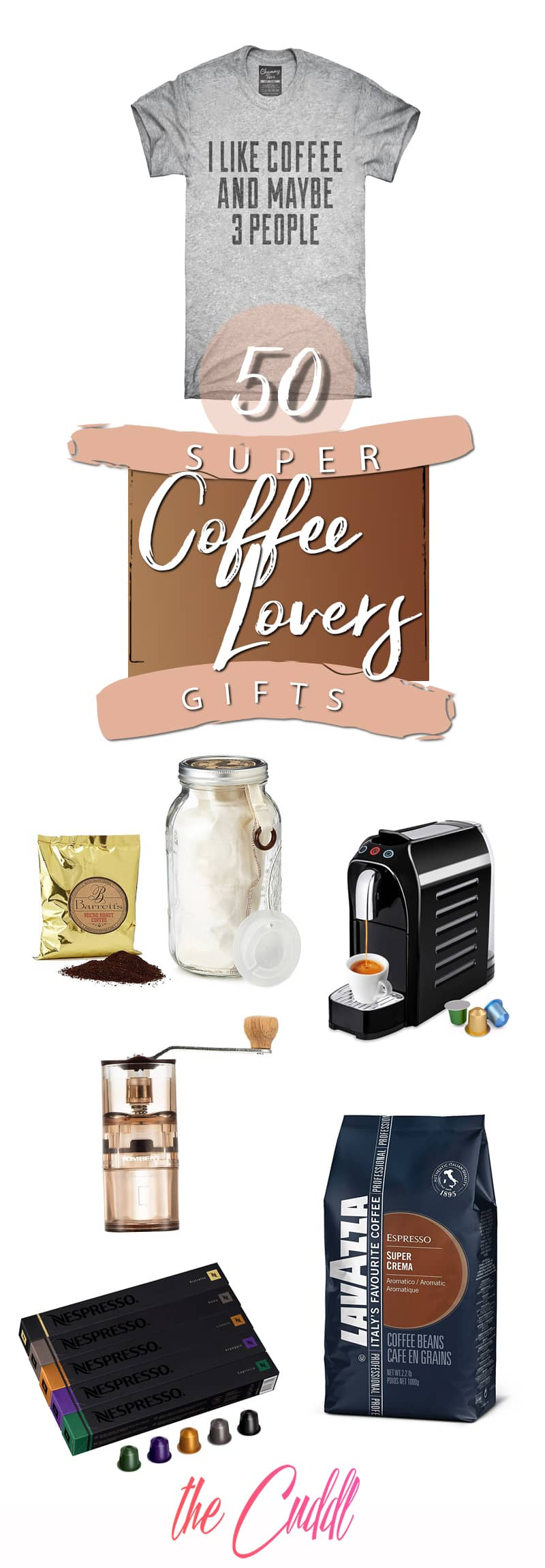 50 Gifts That Will Please Any Coffee Enthusiast