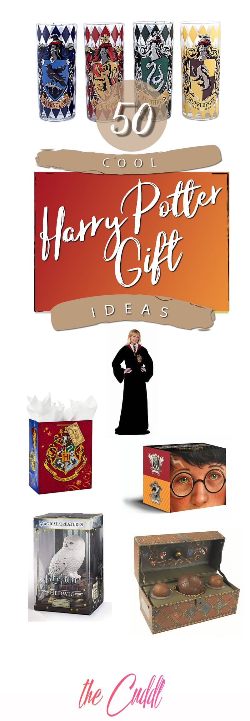 50 Fabulous Harry Potter Gifts to Create Magical Moments