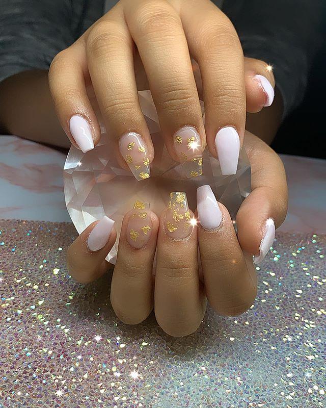 Blushing and Beautiful Translucent Nail Design