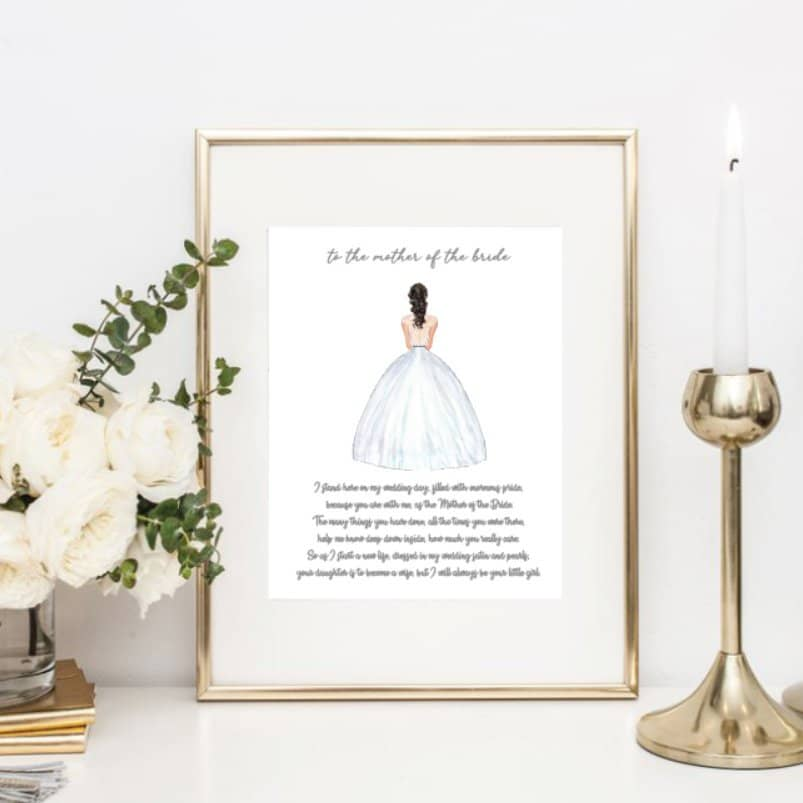 50 Memorable Mother Of The Bride Gifts To Make Her Feel Special In 2020