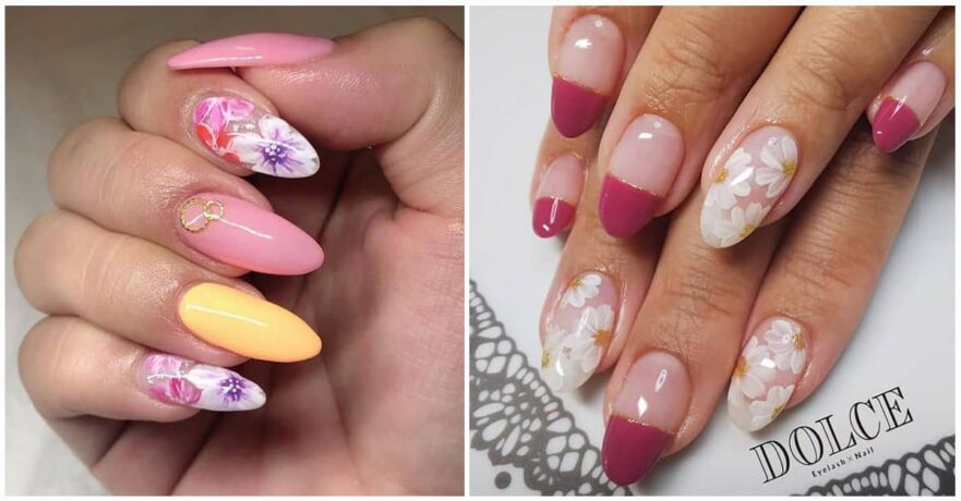 50 Cool Flower Nail Design Ideas to Spice Up Your Look