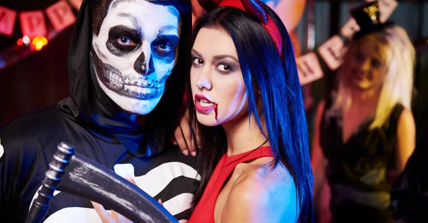 Guy's and Gal's best skeleton outfits