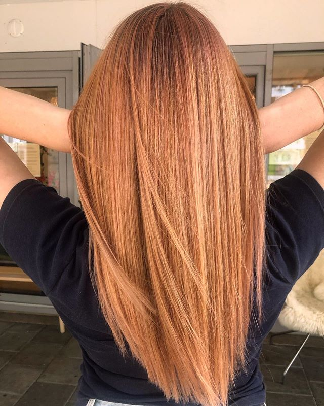 Peach Hair? Incredibly Delicious Color