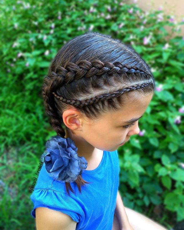 Dutch Braids For The Active Chic