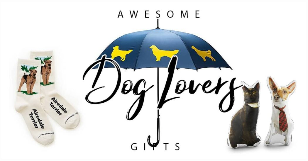 50 Amazing Gifts for Dog Lovers to Make Them Smile