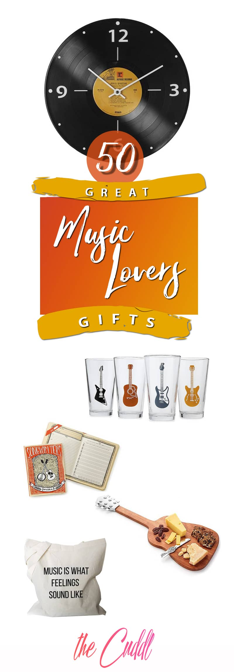 50 Gifts for Music Lovers to Find the Gifts that Will Mean the Most to Your Loved Ones