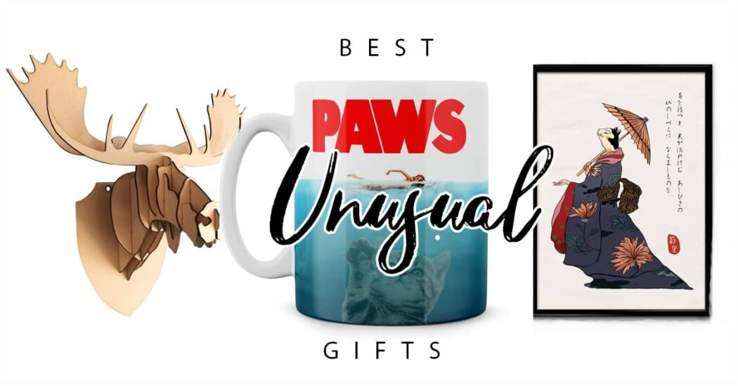 50 of The Best Creative and Unusual Gift Ideas
