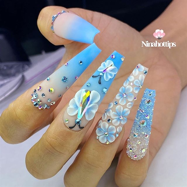 Magnificent Frozen Inspired Nail Paint
