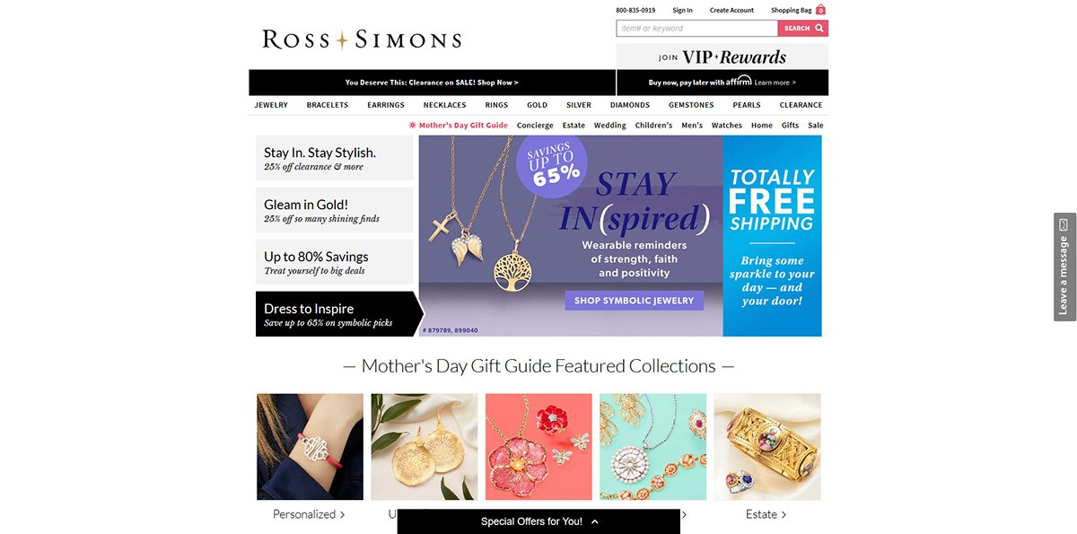 Ross-Simons Online Jewelry Store