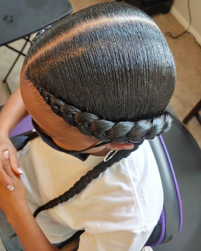 Alluring Native American Braids For Women