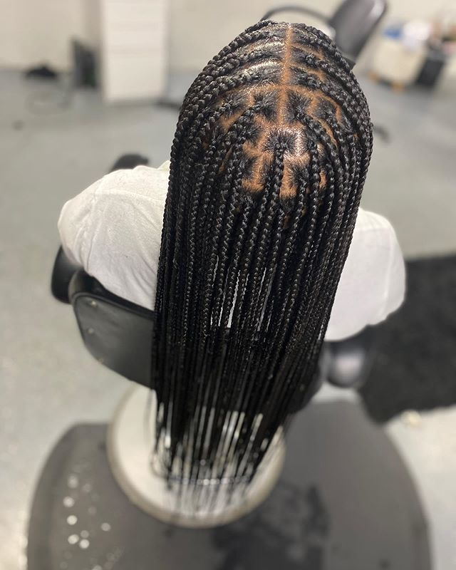 Intricate Tribal Braids For Everyday Living