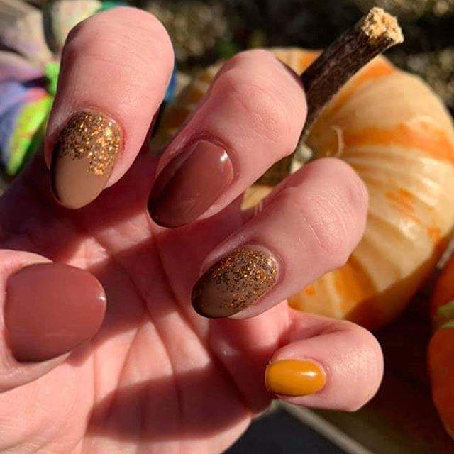 Browns, Golds and Glitter, Oh My!