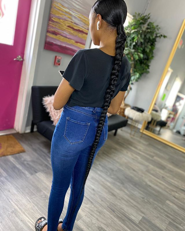 Lovely Simple Braid For Women