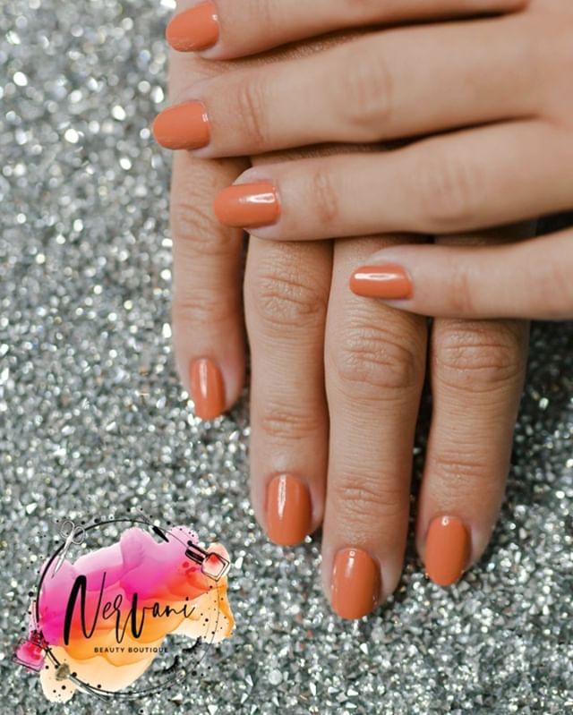 """Just Peachy"" Simple Orange Set"
