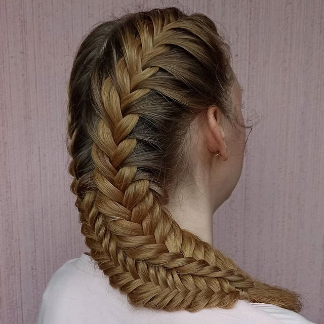 Double Dutch Fishtail French Braids