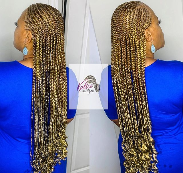 Extravagant Braided Style For Your Next Vacation