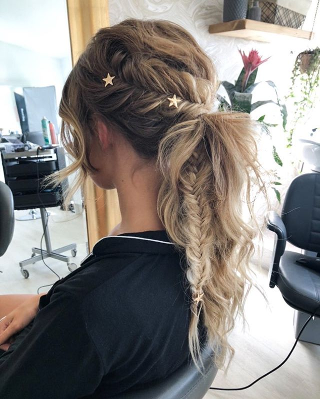 Awesome Fishtail Braid Pony Tail