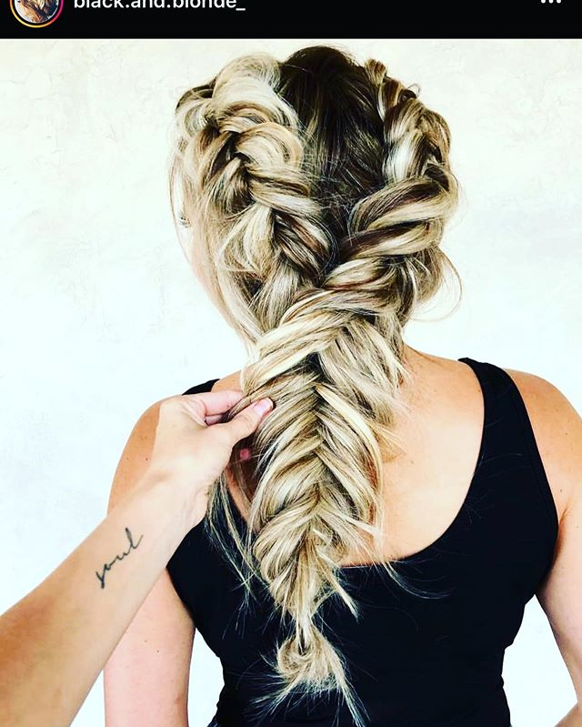 Relaxed And Carefree Double Dutch Fishtails