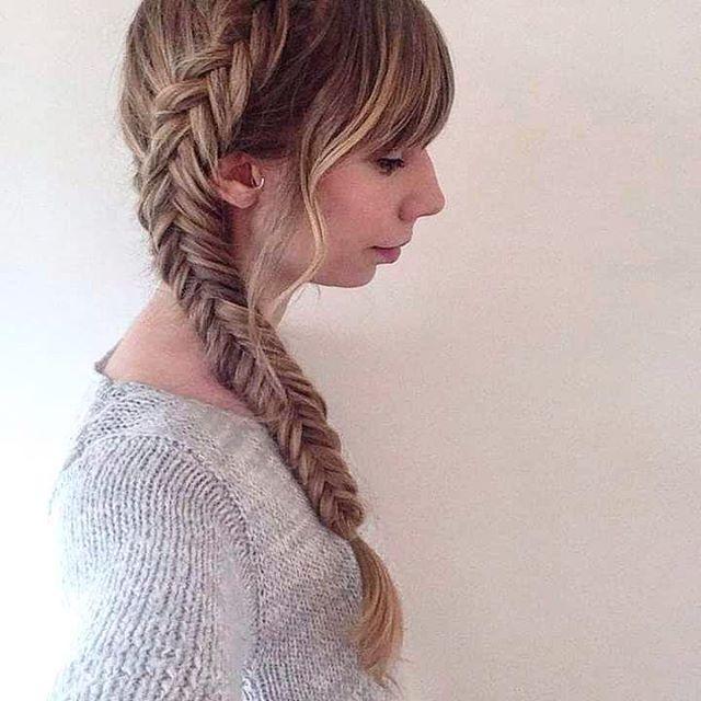 Protective Fishtail Braid For Hair Health