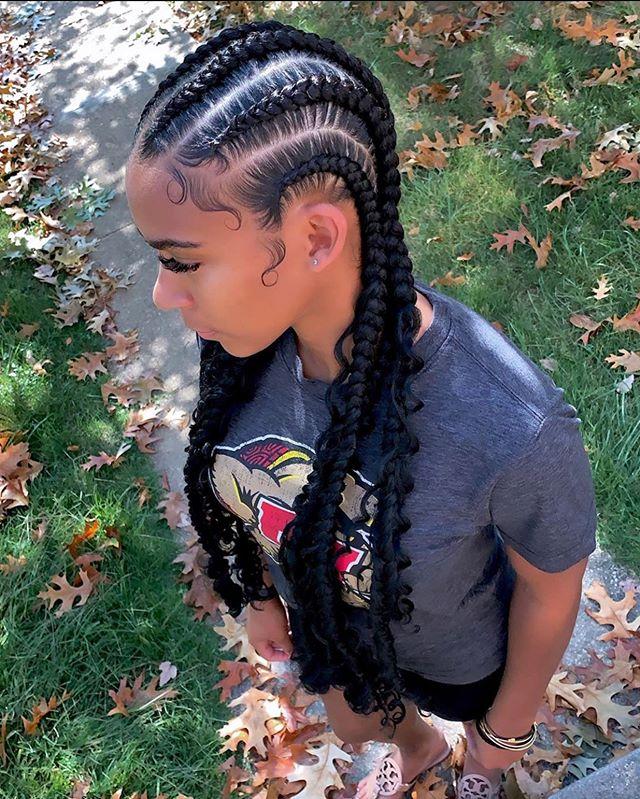 Extraordinary Braids For Young Women