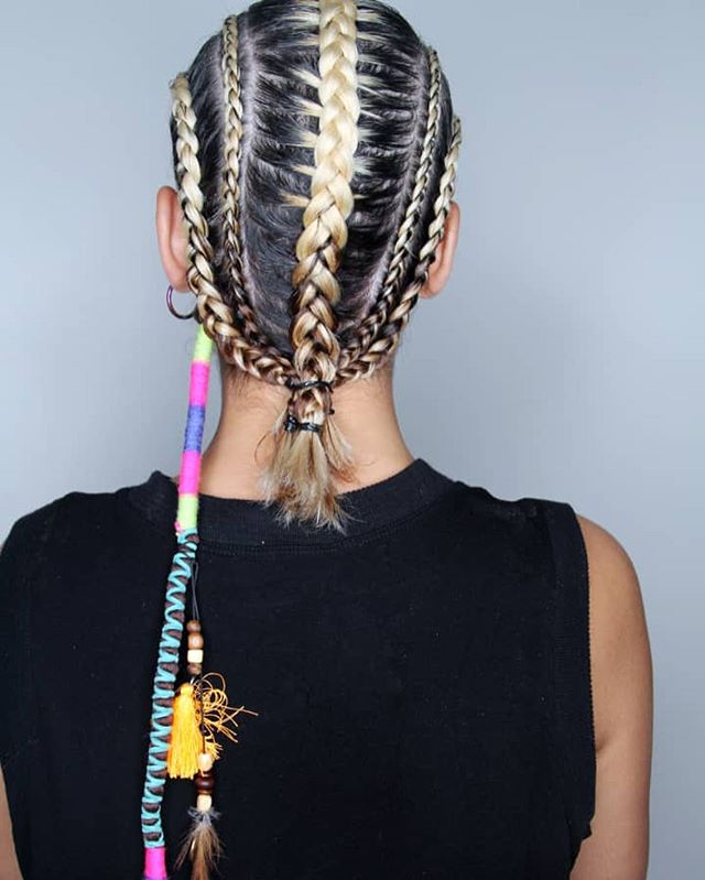 Playful Braided Style For Girls